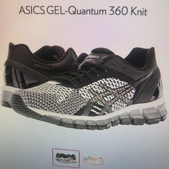 sale retailer 0f880 bea84 ASICS Gel Quantum 360 knit running shoe women's 8